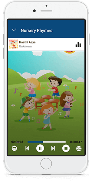 Nursery Rhymes Music Player