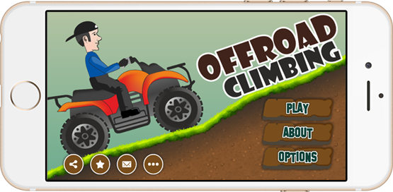 Off Road Climbing Game App