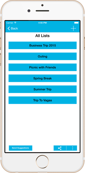 Smart Packing List App